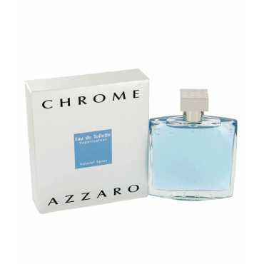 Azzaro Chrome EDT -100 ml - Silver