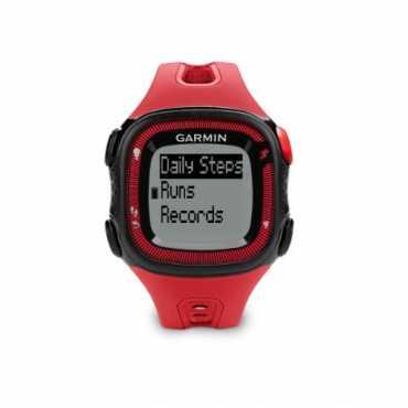 Garmin Forerunner 15 Bundle Fitness Tracker - Red