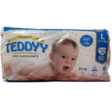 Teddyy Diaper Pants Large (34 Pieces)