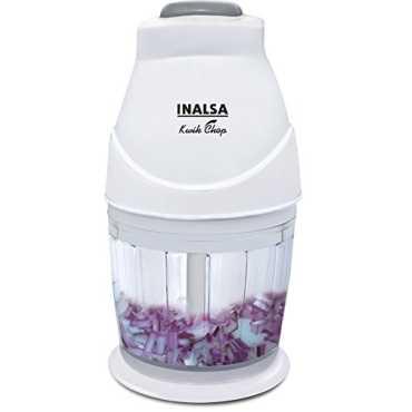 Inalsa Kwik Chop 250W Hand Blender - White