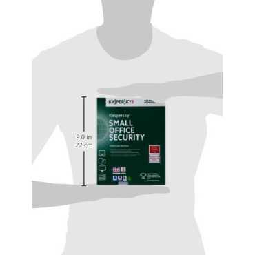 Kaspersky Small Office Security 20 PC's, 2 File Server Antivirus (Key Only)