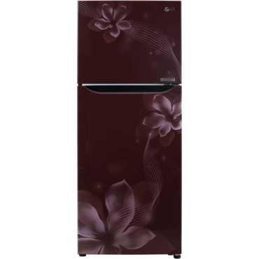 LG GL-C292SSOU 260 L 3 Star Inverter Frost Free Double Door Refrigerator (Orchid) - Blue