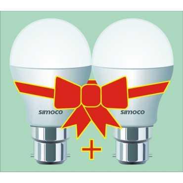 Simoco 5W LED Bulb (White, Pack of 2) - White