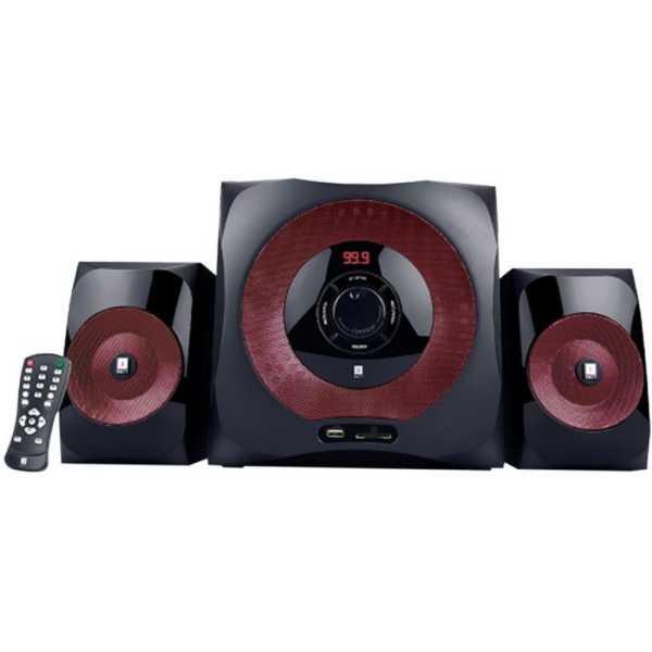 iball Tarang 2.1 Bluetooth Speakers - Red