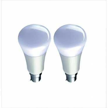 Syska 7W PAP B22 LED Bulb White Pack Of 2