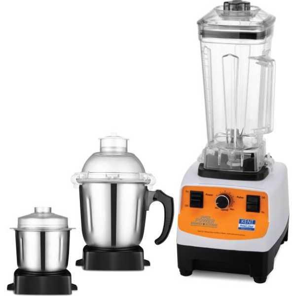 Kent 16083 1200W Super Power Grinder & Blender (3 Jars)