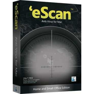 eScan AntiVirus for Mac 1 User 1 Year