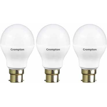 Crompton Led Pro 3W Standard B22 225L LED Bulb (Yellow,Pack of 3) - Yellow