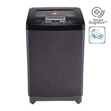 LG 7 Kg Fully Automatic Washing Machine (T8067TEDLK) - Silver