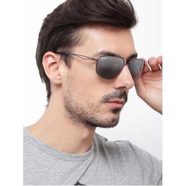 Men Mirrored Rectangular Sunglasses 0RB3490I029/8262