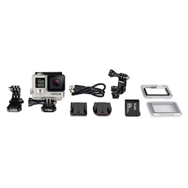 GoPro CHDMY-401 HERO4  Sports & Action Camera - Silver