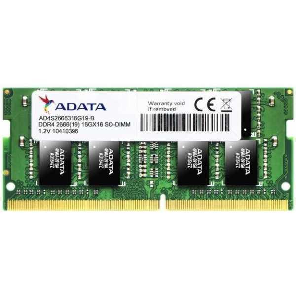 Adata Premier (AD4S2666316G19-R) 16GB DDR4 PC Ram