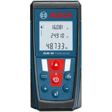 Bosch GLM 50 Laser Distance Measurement Device - Blue