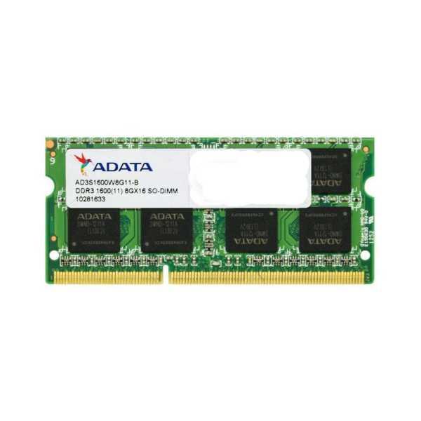 Adata AD3S1600W8G11-R 8GB DDR3 Laptop Ram