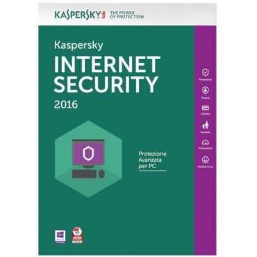 Kaspersky Internet Security 2016 2 PC 1 Year