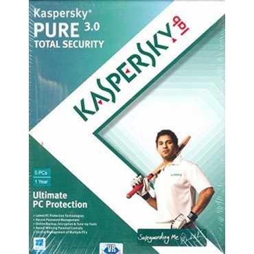 Kaspersky Pure 3.0 Total Security 5 PC 1 Year Antivirus
