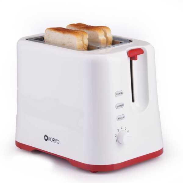 Koryo KPT925R 730 W Pop Up Toaster