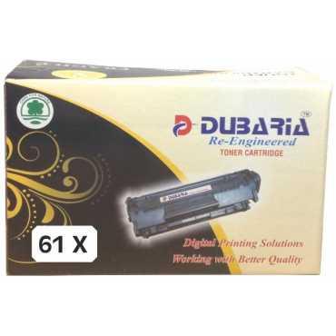 Dubaria 61X Black Toner Cartridge - Black