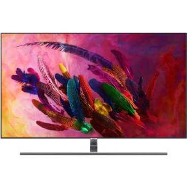 Samsung QN55Q7FNAFXZA 55 Inch 4K Ultra HD Smart QLED TV - Black | Silver
