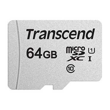 Transcend 64GB MicroSDXC Class 10 UHS-1 Memory Card(TS64GUSD300S)