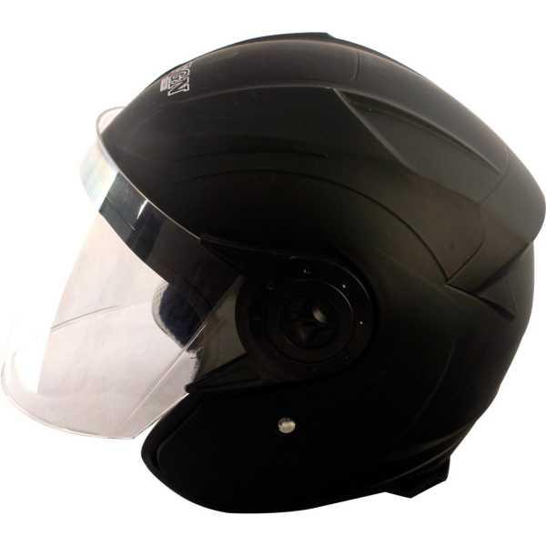 Autofurnish FGN-520 Open Face Motorbike Helmet (Large) - Black