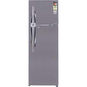 LG GL-I302RPZL 284L Frost Free Double Door Refrigerator - Steel