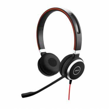 Jabra Evolve 40UC Duo Over the Ear Headset - Black