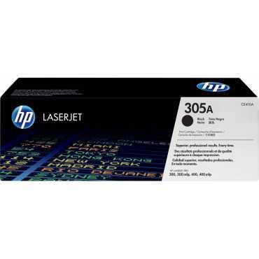 HP 305A Black LaserJet Toner Cartridge - Black