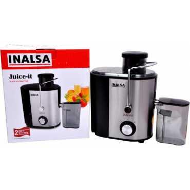 Inalsa Juice-it 500W Juice Extractor - Black