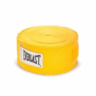 Everlast Pro Style Hand Wraps - Yellow | Black