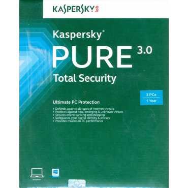 Kaspersky Pure 3.0 Total Security 2013 Antivirus - 3 PC 1 Year