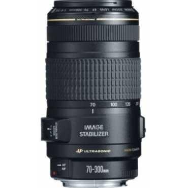 Canon EF 70-300mm f/4-5.6 IS USM Lens - Black