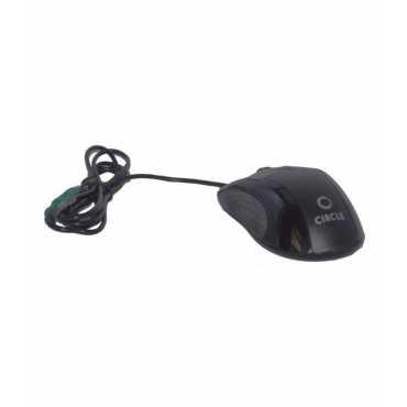 Circle CM319 PS/2 Mouse - Black