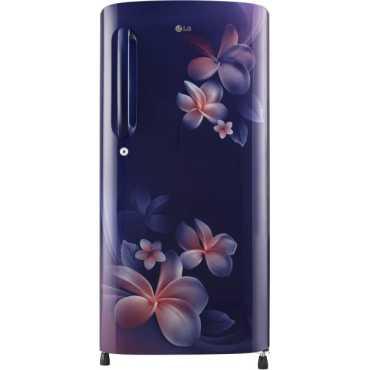 LG GL-B201ABPX 190 L 4 Star Inverter Direct Cool Single Door Refrigerator (Plumeria) - Blue | Red