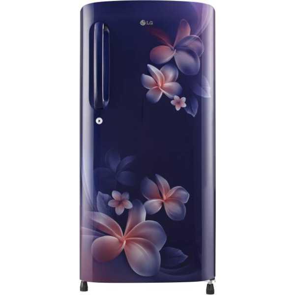 LG GL-B201ABPX 190 L 4 Star Inverter Direct Cool Single Door Refrigerator (Plumeria)