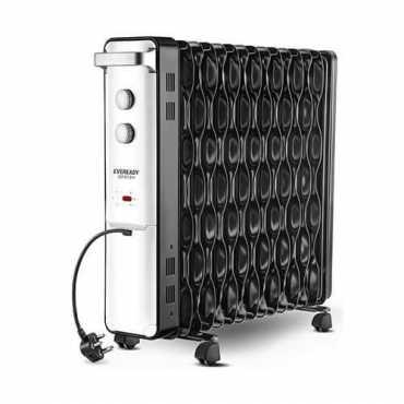 Eveready OFR13H 2500W Oil Filled Room Heater - Black