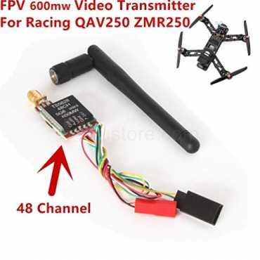 Generic 2016 5.8GHz 600mW 48CH Mini Wireless Video Transmitter TS5828 Module for Drone Camera QAV250 ZMR250 DJI gopro FPV Quadcopter