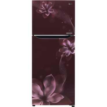 LG GL-P292KSOR 260 L 2 Star Inverter Frost Free Double Door Refrigerator (Orchid) - Purple