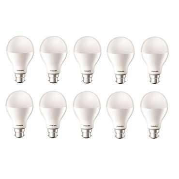 Philips 17W B22 6500k LED Bulb Cool Day Light Pack of 10