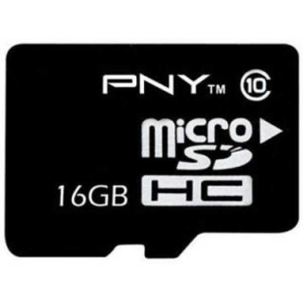 PNY MSDCWA 16GB Class 10 MicroSDHC Memory Card