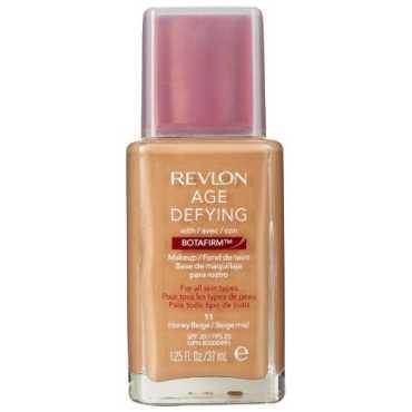 Revlon Age Defying Makeup Foundation with Botafirm Honey Beige For Dry Skin