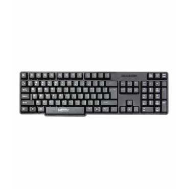 Zebronics Zeb-K09 USB Keyboard - Black