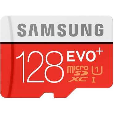 Samsung EVO Plus 128GB MicroSDXC Class 10 80MB s Memory Card