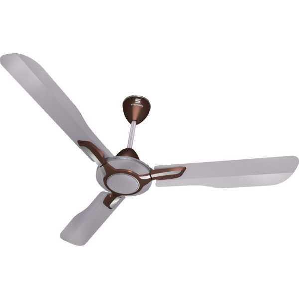 Havells Standard Aspire 3 Blade (1200mm) Ceiling Fan - Silver | Brown