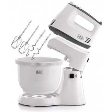 Black & Decker M700 300W Hand Blender - White   Black