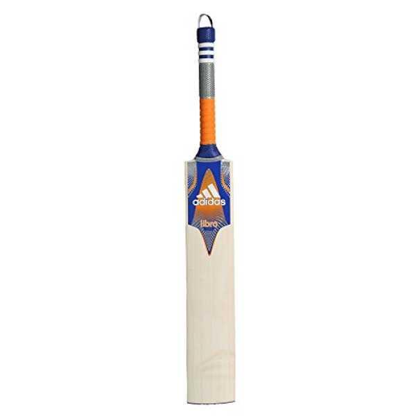 Adidas Cx11 6 EW Libro English Willow Cricket Bat (Size 5) - Blue