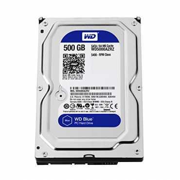 WD Blue WD5000AZRZ 500GB Internal Hard Drive - Blue