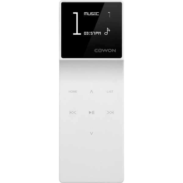 Cowon iAudio E3 8GB MP3 Player - White