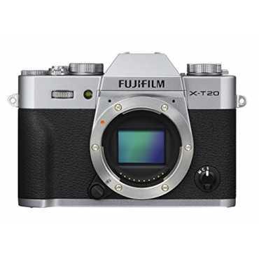 Fujifilm X-T20 Mirrorless Camera (Body Only) - Silver | Black