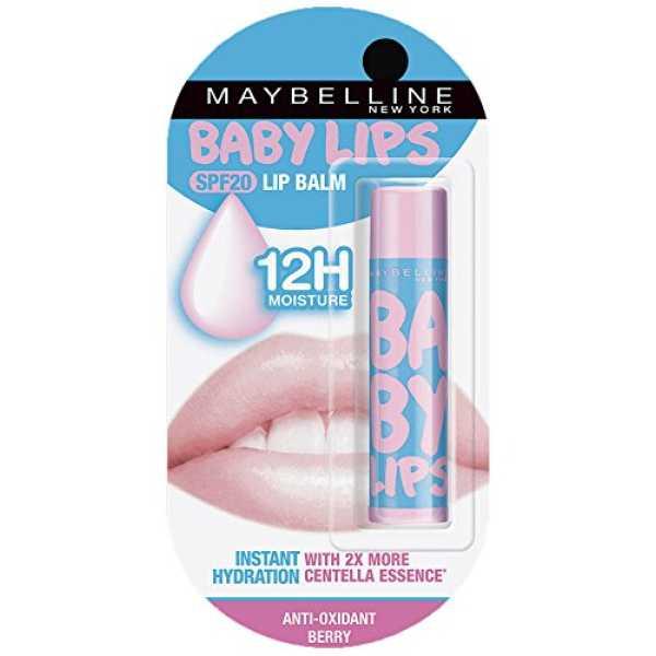 Maybelline Baby Lips Anti Oxidant Lip Balm (Berry)